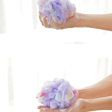 Wholesale Price 6pc/lot Bath flower bath sponge bath Chopping Cuozao ball Foaming Net flower bath toiletries