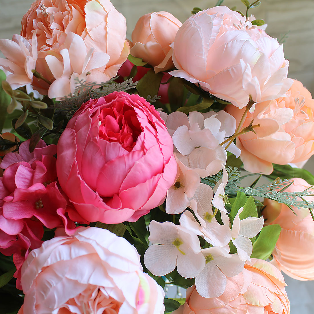 Peony flowers european fake flowers vintage artificial peony silk peony flowers european fake flowers vintage artificial peony silk flowers wedding decoration home peony flowers bouquet flores in artificial dried flowers izmirmasajfo Images