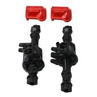 Mxfans Alloy Metal Front and Rear Axle Housing for Traxxas TRX 4 1/10 RC Model Car RC Car Replacement One Pair
