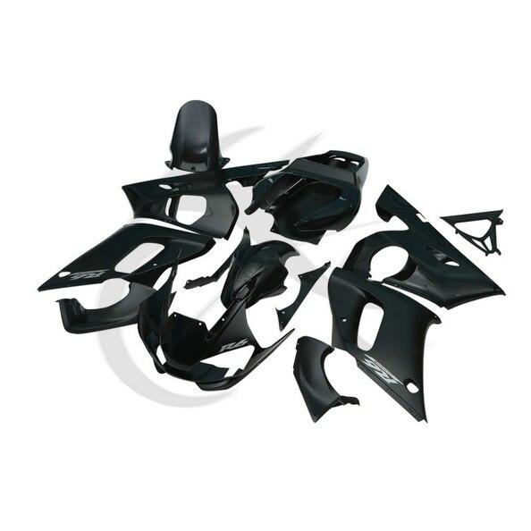 Black ABS Plastic Fairing Body Work Set For Yamaha YZF R6 YZF-R6 1998-2002 2001