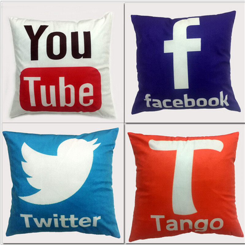 Instant Message Service Center : Instant message app design cushion cover facebook youtube