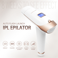 IPL Permanent Epilator Painless Laser Hair Remover 300000 times Home Pulse light Hair Removal Device Facial Armpit Limbs Bikini