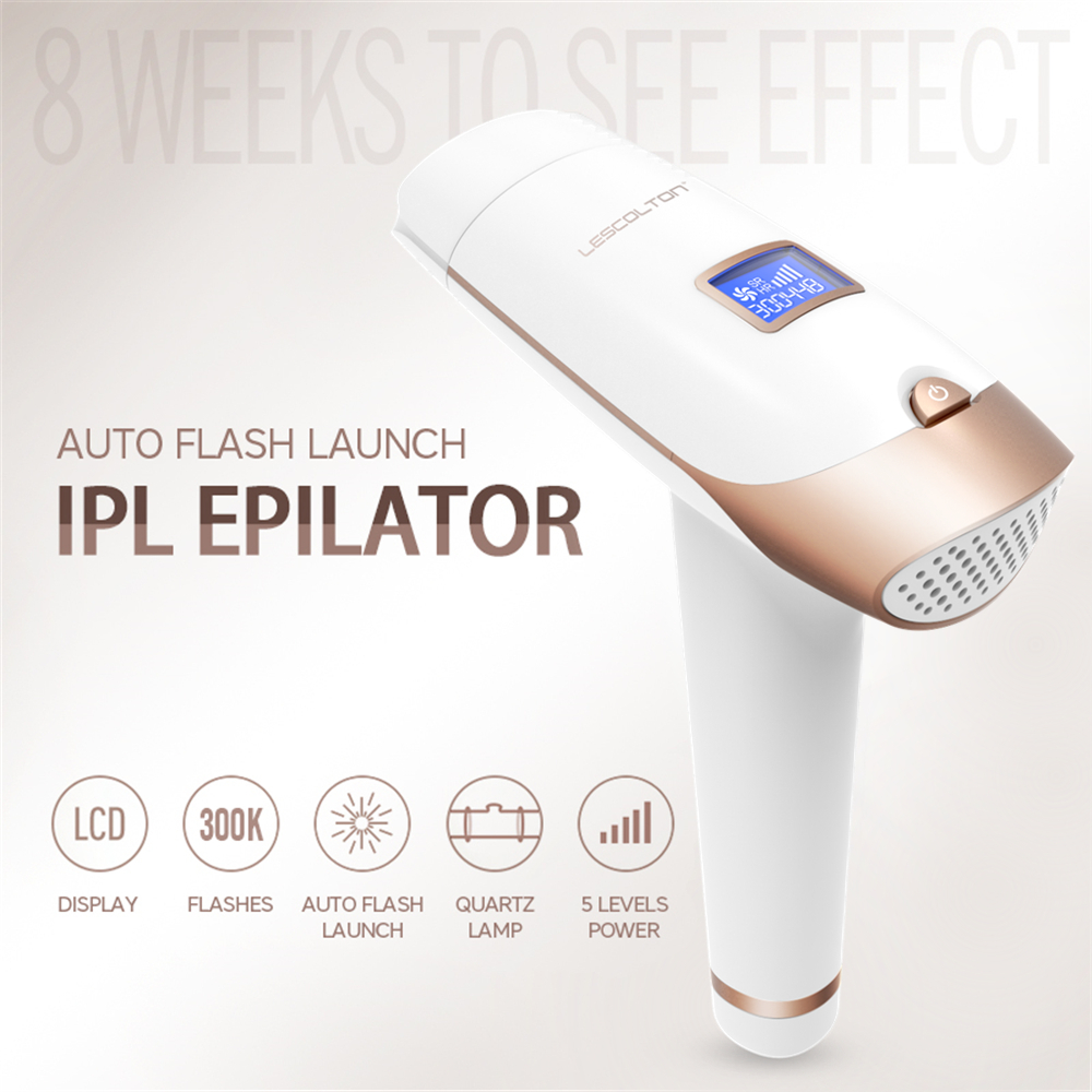 IPL Permanent Epilator Painless Laser Hair Remover 300000 times Home Pulse light Hair Removal Device Facial