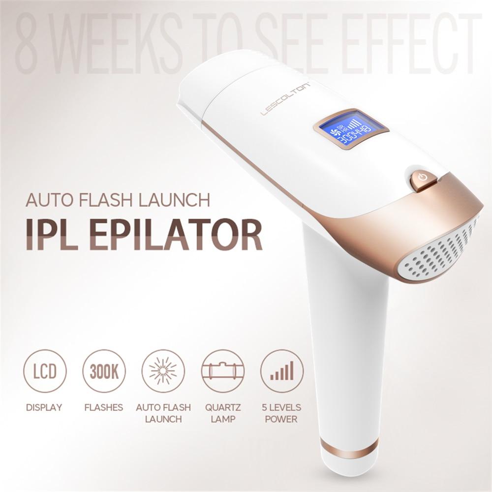 IPL Permanent Epilator Painless font b Laser b font Hair Remover 300000 times Home Pulse light