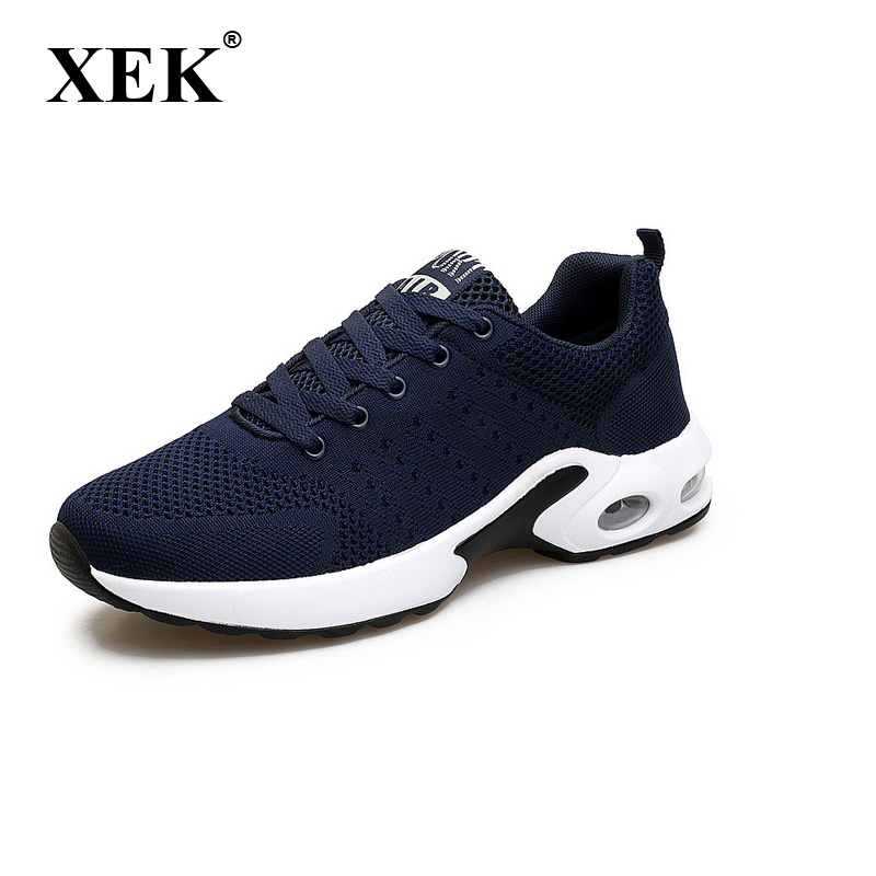 XEK 2018 mens sports shoes run gym trail running shoes men boost breathable sneakers for men GSS11