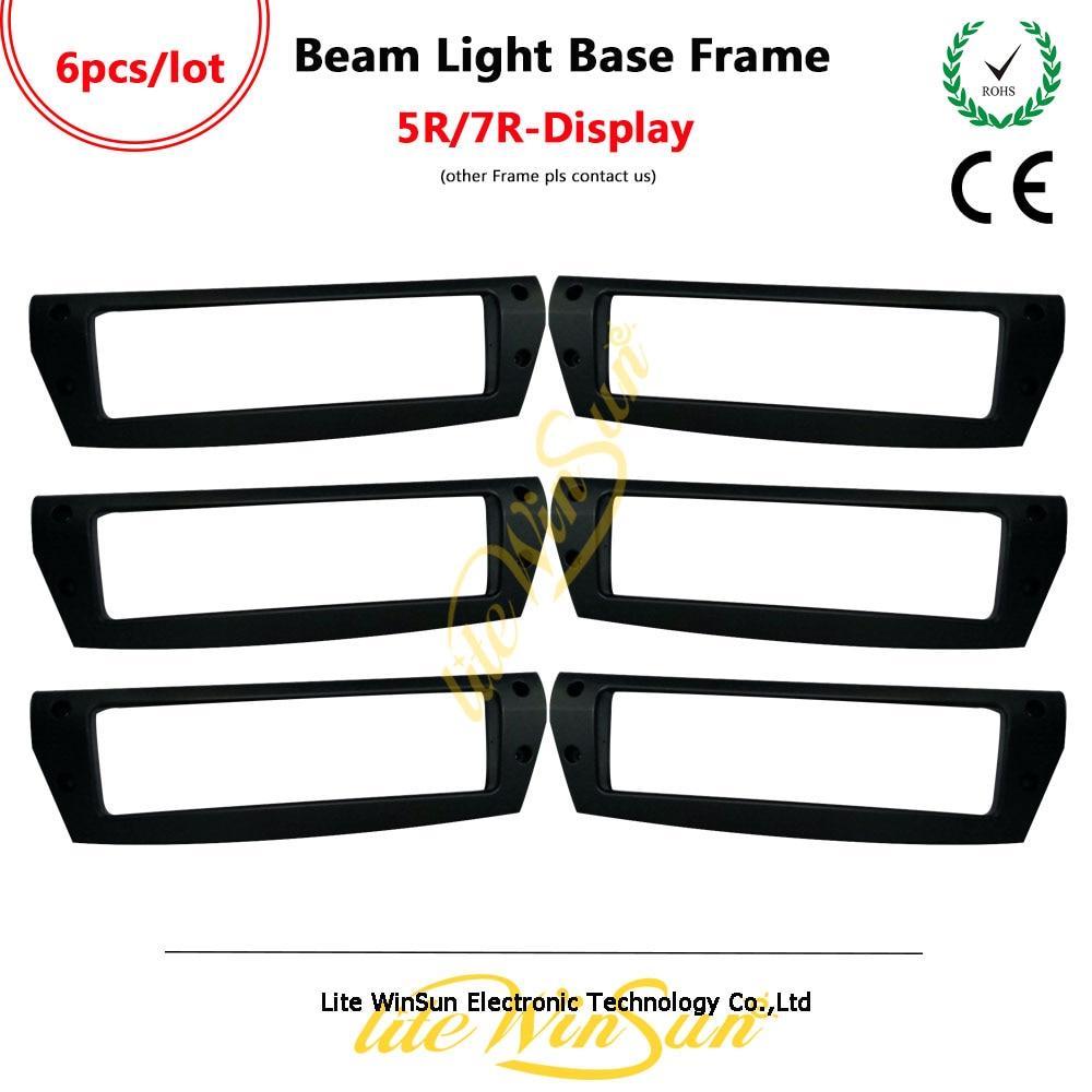 Litewinsune 6pcs Freeship Moving Beam 200 230 Display Frame Cover for Beam 5R Beam R7
