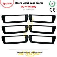 Litewinsune 6 stks Freeship Bewegende Balk 200/230 Display Frame Cover voor Beam 5R Beam R7-in Toneelbelichtingseffecten van Licht & verlichting op