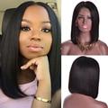Short Human Hair Bob Wigs Malaysian Straight Hair Full Lace Bob Wig Virgin Lace Frontal Wigs For Black Women Bob Human Hair Wig