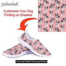 Jackherelook Customize Images Logo Womens Flats Summer Outdoor Sports Walking Jogging Running Shoes Flat Sneakers Lightweight