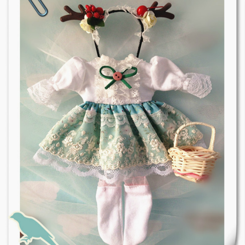 BJD doll clothes bjd dress set bjd suit - 1/6 1/4 blyth yosd clothes fashion nighty for bjd 1 6 yosd 1 4 msd 1 3 sd17 uncle doll clothes accessories