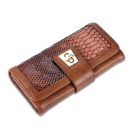 MIWIND Brand Plaid Nubuck Leather Female Wallet Women Purse Coin Credit Card Holder Business Travel Lady