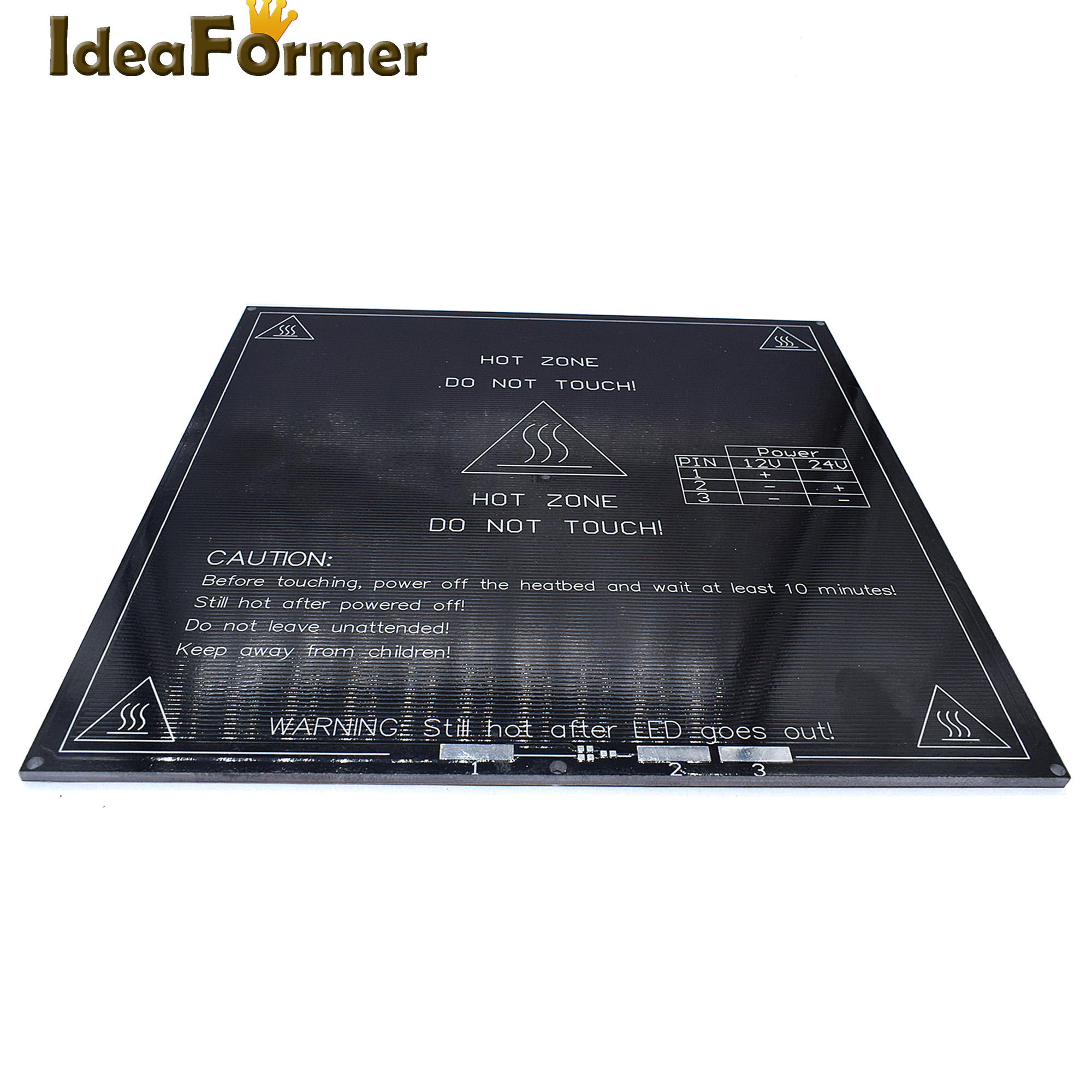 3d Printer Mk3 Standard Aluminum Plate 3mm Hot Bed Reprap Provided Electronic Components & Supplies