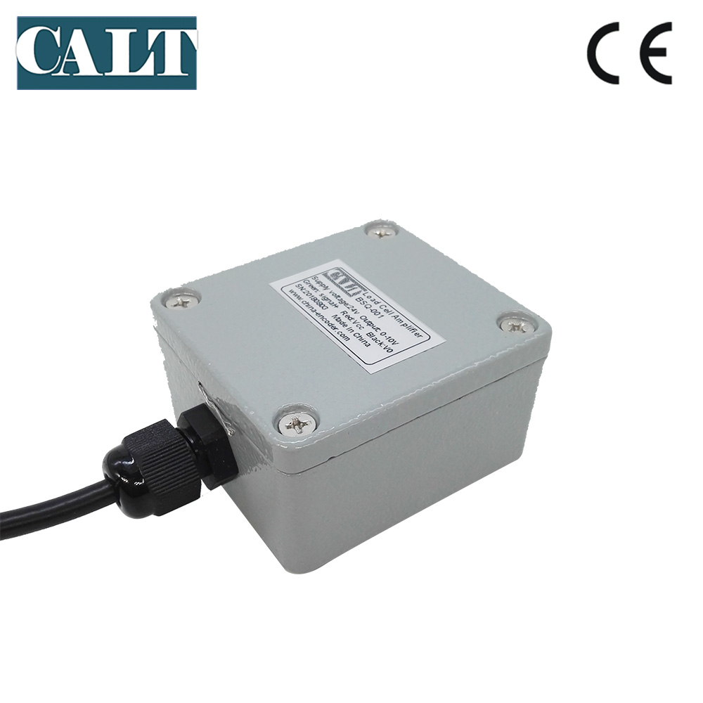 Load Cell Signal Amplifier Transmitter Connected To The Plc Calt Single Channel Bsq 001 0 5v 10v 4 20ma Output Ampfliter