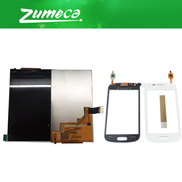 For Samsung Galaxy Trend S7562 GT-S7562 GT-S7560 Samsung S7560 LCD Display+Touch Screen Digitizer Black White Color With TapeFor Samsung Galaxy Trend S7562 GT-S7562 GT-S7560 Samsung S7560 LCD Display+Touch Screen Digitizer Black White Color With Tape