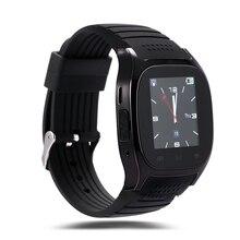 M26 Smart Bluetooth Uhr Smartwatch M26 mit Led-anzeige Musik-player Schrittzähler für Android IOS Handy