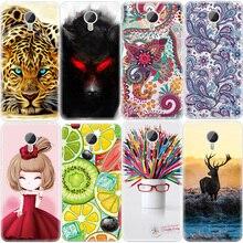 Flor fresca animais padrão mobile phone case para meizu m3 note m2 note M3S M3 M2 mini Pro 6 U10 U20 Abranger Os Casos de TPU Macio Capa