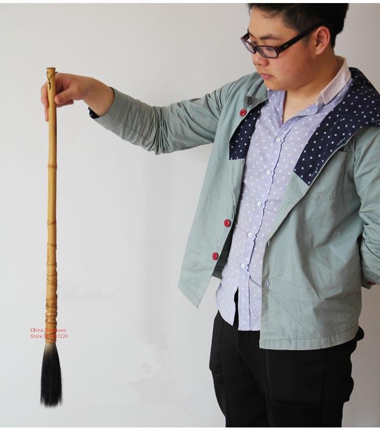 Pinceau de calligraphie chinois de grande taille pour écrire sur une brosse à eau souterraine pinceau d'écriture chinois fournitures de peinture chinoise