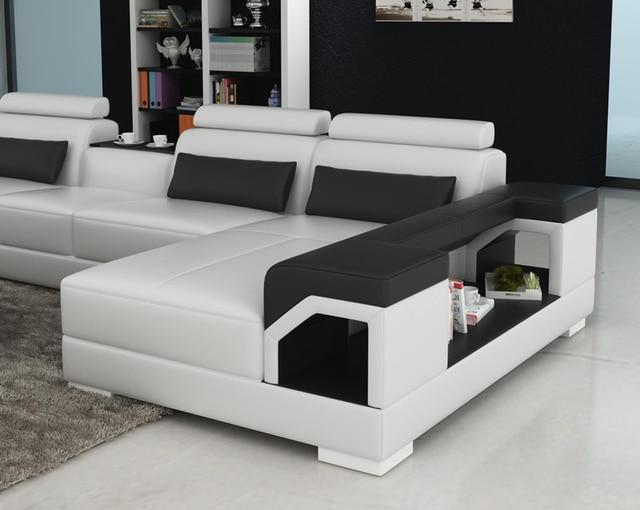 Nouveau modèle salon en cuir canapé G8010 dans Canapés salle de ...
