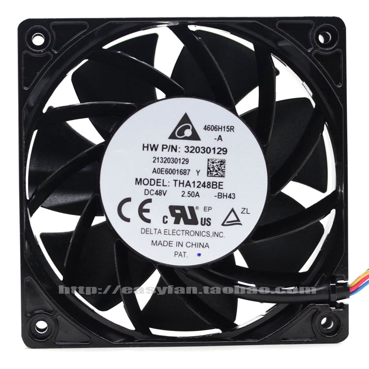 brand new DELTA THA1248BE 48V 2.50A 12038 12CM48V cooling fan brand new a155 6 48 288