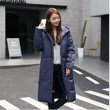 2016 Европа Сша Зимой Женщины Хан Издание Моды Темперамент Развивать нравственность Пуховик Пальто Куртки