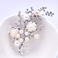 I know how 2017 New South Korea accessories shawls buckle pin brooch Pearl Brooch female