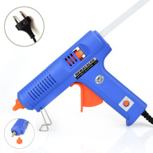 NEWACALOX Industrial 150W EU Plug Hot Melt Glue Gun with 1pc 11mm Stick Heat Temperature Tool Guns Thermo Gluegun Repair Tools