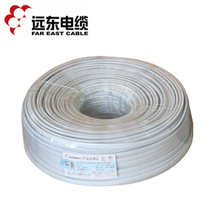 Far east electrical wire cable bvvb 3 1.5 gb 3 pure copper core shezthed jiezhuang electrical wire 100 meters