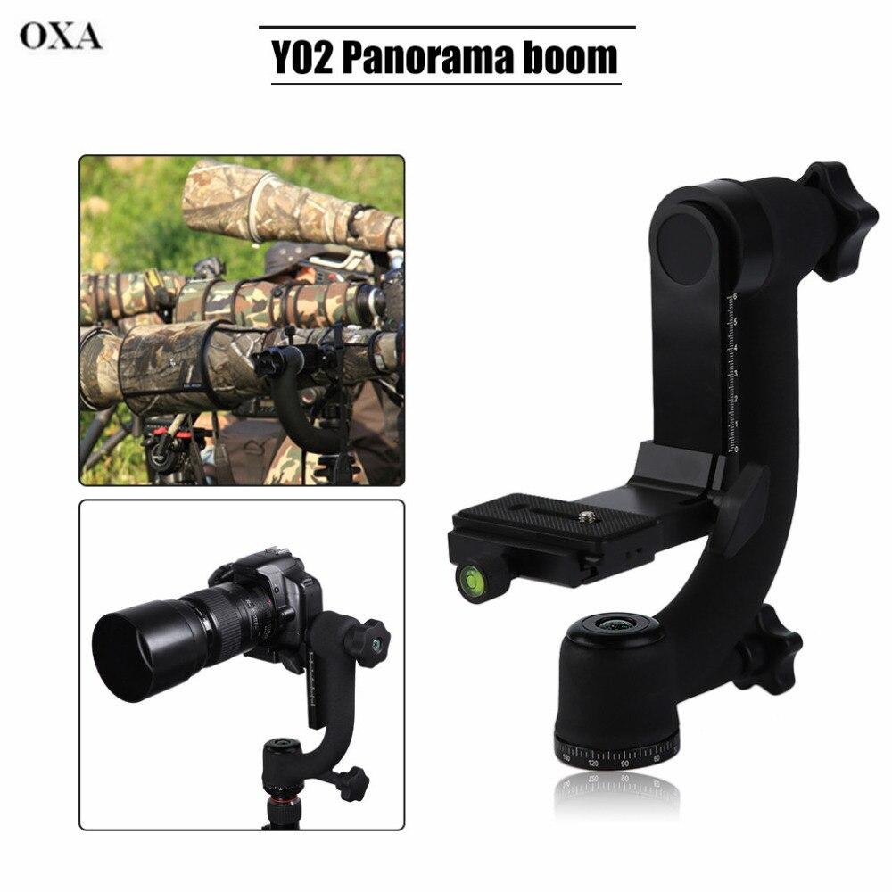 OXA Praktische 360 Grad Panorama Gimbal Stativkopf für Digitale Slr-kamera mit Schnellwechselplatte...