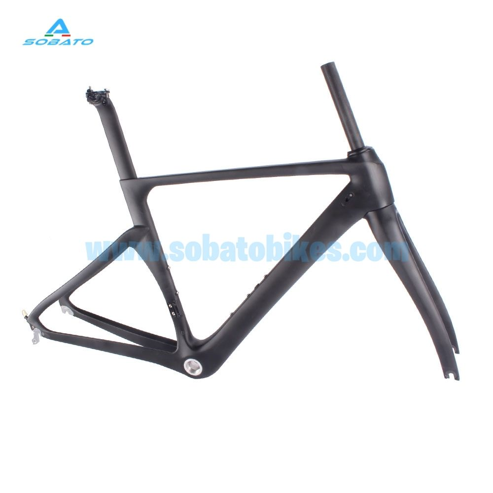 700C Carbon Road Bike Frame Cyclocross Bicycle frame Disc Brake with QR Cross City Frame BB30/BSA And DI2 Compatible hot sale chinese cyclocross frame carbon cx frame di2 disc brake carbon cyclocross bike frame cx535