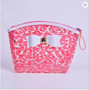 Customize Cute Clear Designer Cosmetic Makeup Pouch