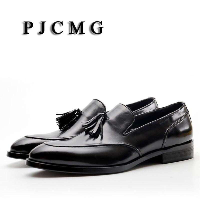 Apontado Shoes Pjcmg Genuíno Dedo vermelho Flats De Negócios Respirável Oxfords Homens Couro Lace Preto Black up Novo Dos red Vestido Sapatos Casamento 7xPrqS7T