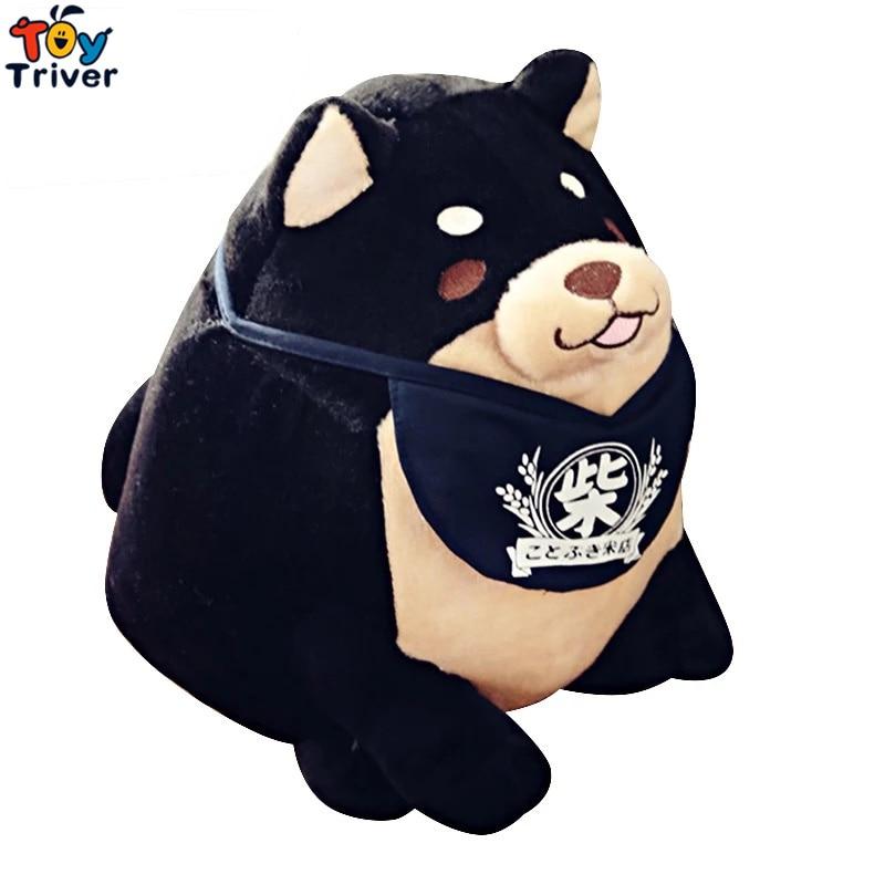 Плюш Япония Мамешиба Sankyoudai Лоялно куче Шиба Ину Трима братя играчки Плюшена кукла бебе Детски магазин за подаръци за рожден ден Декор Тривър