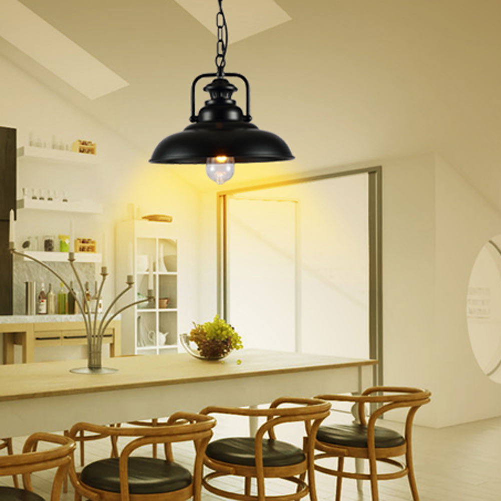 Edison Loft Style Metal Lid Droplight Industrial Vintage energy saving lamps Pendant Light Fixtures For Dining Room Hanging Lamp наполнитель для кошачьего туалета pussy cat океанический