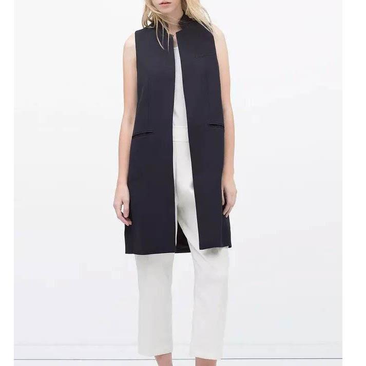 длинный женский жилет фото