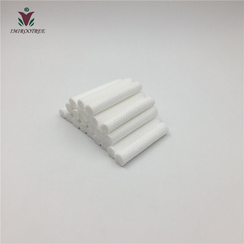 200PCS/lot High Quality Replacement Polyester Wicks, Essential Oil Cotton Wicks 8x51mm For Plastic Nasal Inhalers