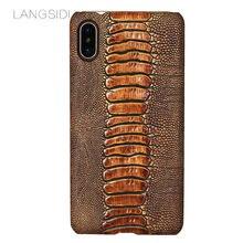 Чехол для телефона из натуральной кожи iphone 11 pro max xsmax