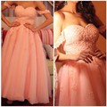 2016 Newest Off Shoulder Pink Long Homecoming Dresses Cheap Graduation Dress Girls Prom Cocktail Gown Custom