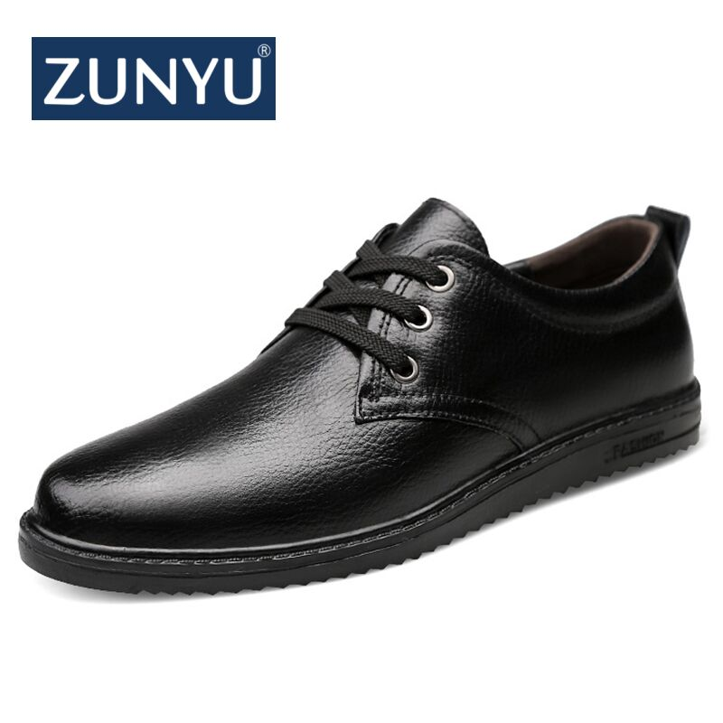 New Big size 37-47 casual shoes men loafers spring autumn mens moccasins shoes genuine cow leather men's flats shoes ZUNYU Brand big size 36 47 men casual shoes men fashion brand loafers spring autumn moccasins men genuine leather shoes men s flats shoes