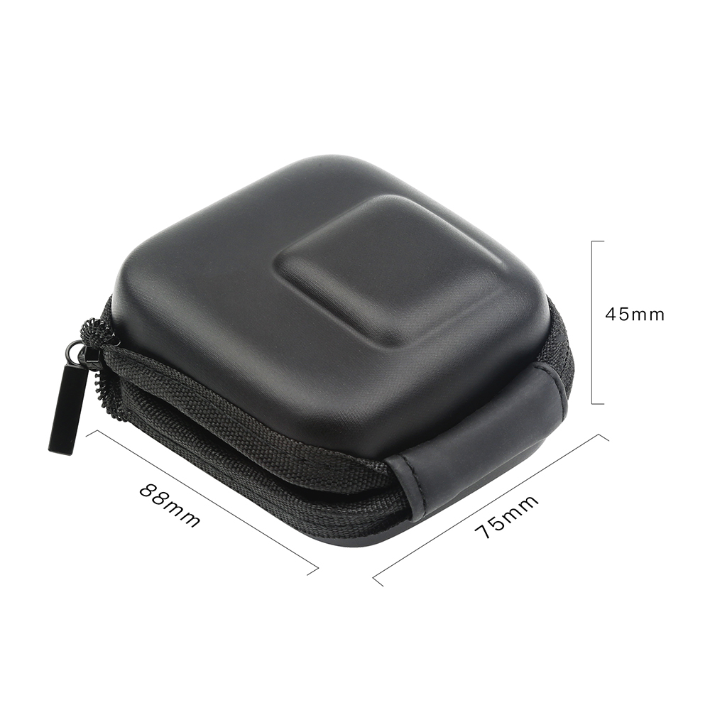 Image 4 - SHOOT for GoPro Hero 8 7 6 5 Black Mini EVA Protective Storage Case Bag Box Mount for Go Pro Hero 7 8 5 Black Silver Accessories-in Sports Camcorder Cases from Consumer Electronics