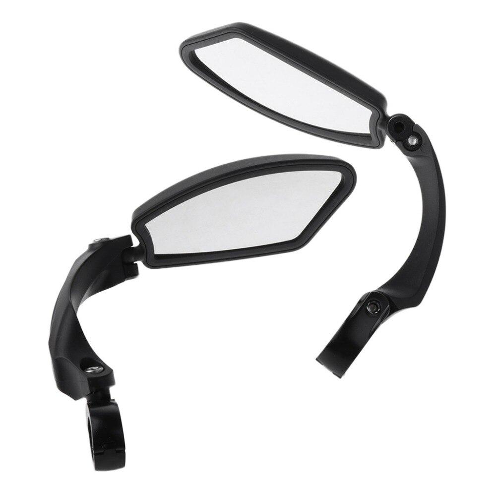 Miroir de vélos VTT Route Vélo Rétroviseur Vélo Guidon Œil En Arrière Blind Spot Miroir de Sécurité Flexible Rétroviseur Vélo Miroirs dans Vélo Miroirs de Sports et loisirs