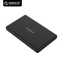 ORICO High-Speed 2.5 Inch HDD Enclosure USB3.0 Micro B External Hard Drive Disk Enclosure Case for 7mm SSD 2578U3-BK