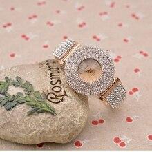 JBAILI Luxury Women Watch High Quality Pure Rhinestone Crystal Small Face Ladies Watches Brands  quartz JBA01