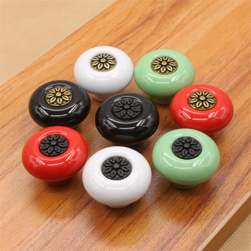 Online Buy Wholesale Cabinet Knobs Ceramic From China Cabinet Knobs Ceramic W