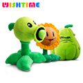 30CM Plants vs Zombies Pea Shooter Sunflower Squash Plush Toys Soft Plush Toy Doll Baby Party Fashion GamesToys Birthday Gift