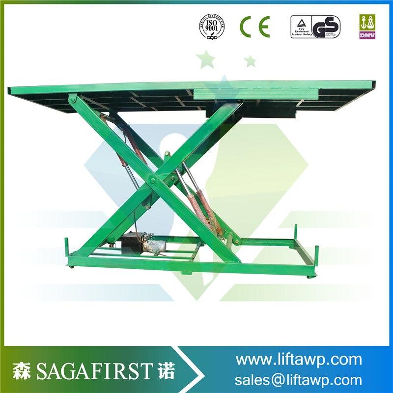 Custom Stationary Hydraulic Car Rotary Stage Lift Platform