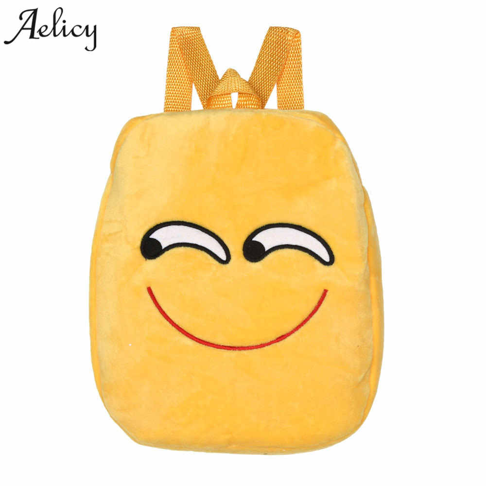 8d9f0ba4c02c Detail Feedback Questions about Aelicy Fashion Emoji Bag School Backpack  Youth Kawaii kids Backpack Schoolbag Cute Printing Backpack for Girl  Teenage sac a ...