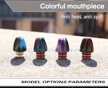 Derlin Epoxy resin 510 drip tip mouthpiece for Haze/iJoy Limitless/Tornado Tank Atomzier electronic cigarette drip tip