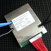 Li ion cell 13S 48V 50A BMS For 48V 30Ah 40Ah 50Ah lithium ion battery Working current 50A 1500W 2000W With balance function