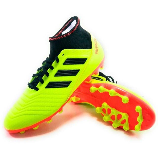 sports shoes 4c649 5ba90 ADIDAS PREDATOR 18.3 AG - Hombre Botas Futbol Hierba Artificial Sintetico  Amarillo - botas de futbol
