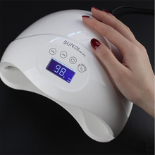 SUN5 Professional UV LED Lamp 48W Nail Dryer Polish Gel Manicure Machine for Curing lamp led nail Tool